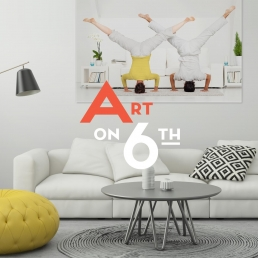 Art on 6th Real Estate Branding